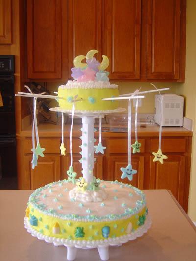Carousel Baby Shower Cakes